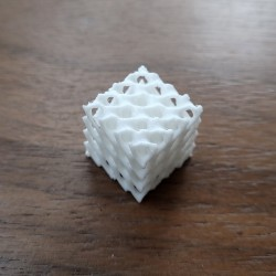 Серьги кубические